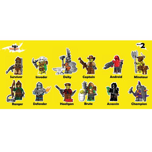 BrickWarriors Pack Wave 2