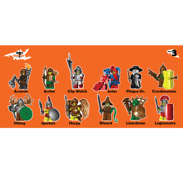 BrickWarriors Pack Wave 3