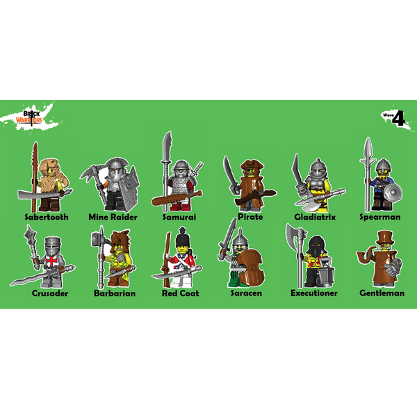 BrickWarriors Pack Wave 4