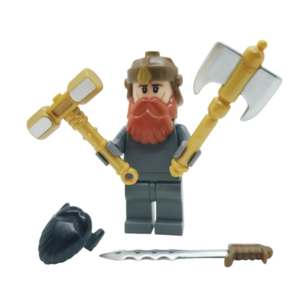Dwarf Warrior - Weaponsmith Accessory Pack