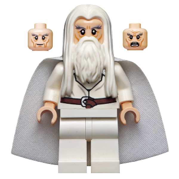 Gandalf the White (no cape - read description for details)