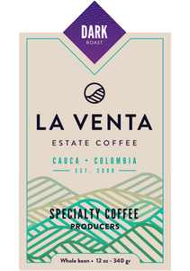 Colombian Specialty Coffee - Dark Roast Whole Bean