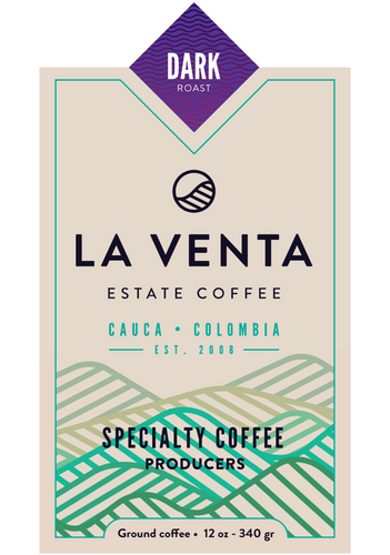 Colombian Specialty Coffee - Dark Roast Ground