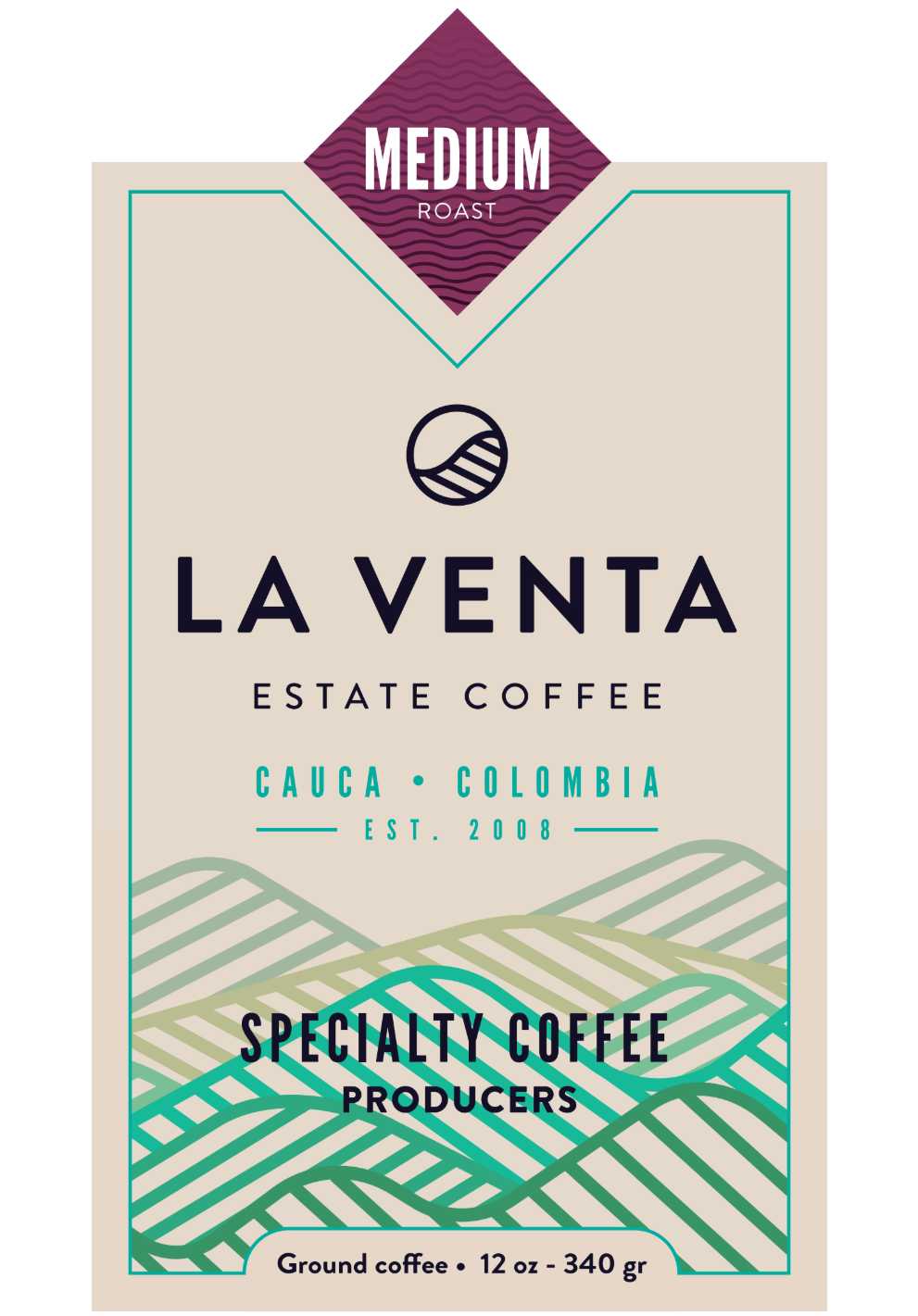 Colombian Specialty Coffee - Medium Roast Ground