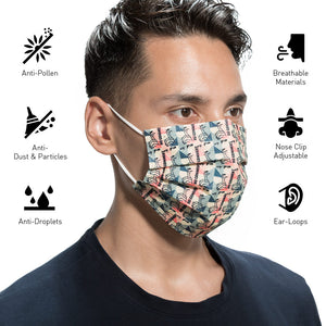 Mona Lisa Disposable Protective Mask
