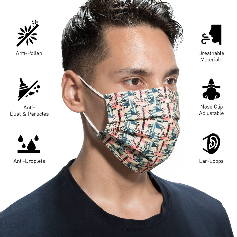 Mona Lisa Disposable Protective Mask ( 10 Masks )