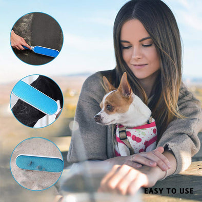 Pet Hair Remover Brush with Self Cleaning 3 in 1