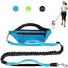Hands Free Dog Reflective Leash with Adjustable Waist Belt for Outdoors