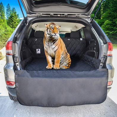 SUV Cargo Liner Cover With proof Material With Non Slip Backing