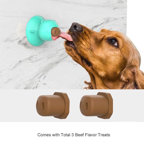 Dog Chew Toy for Bathing in Pig Shape