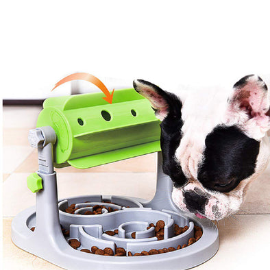 Pet Food Puzzle Toy FDA Certified Slow Feeder