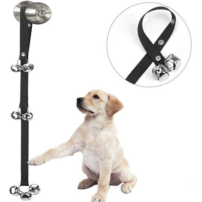 Pet Doorbells for Door Knob/Potty Training/Go Outside