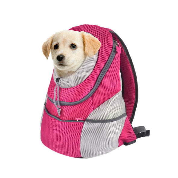 Comfortable Pet Carrier Backpack With Breathable Head Out Design