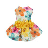 Floral D-Ring Harness Pet Dres