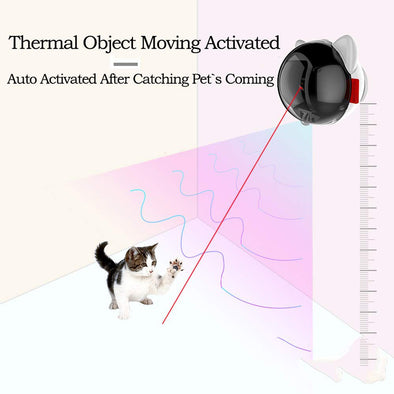 Boltz Automatic Motion Activated Cat Laser Toy