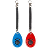 Dog Training Clicker with Wrist Strap 2 Pack