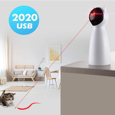 Automatic Pet Laser Toy USB Charging & Placing Hign