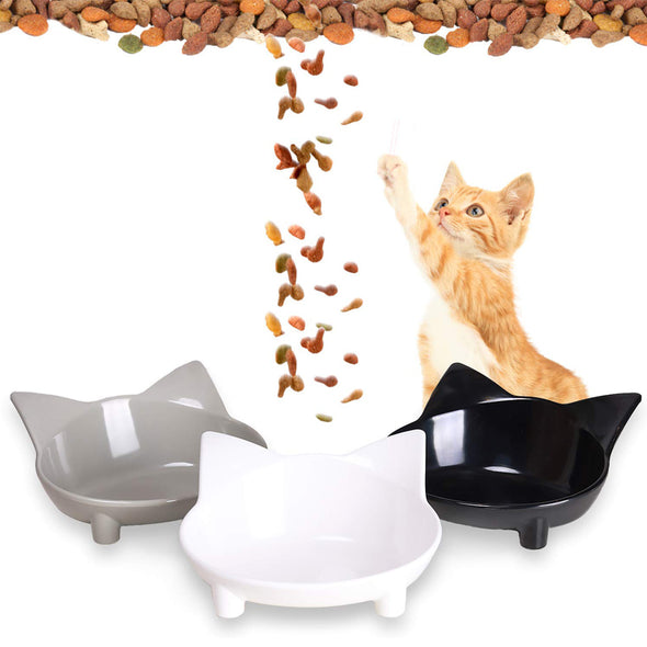 Non Slip Cat Food & Water Bowls 3 Pack