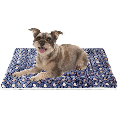 Ultra Soft Pet Bed with Cute Prints | Reversible & Washable