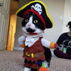 Funny Pirate Pet Costume Suit