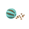 Nontoxic Bite Resistant Dog Treat Ball