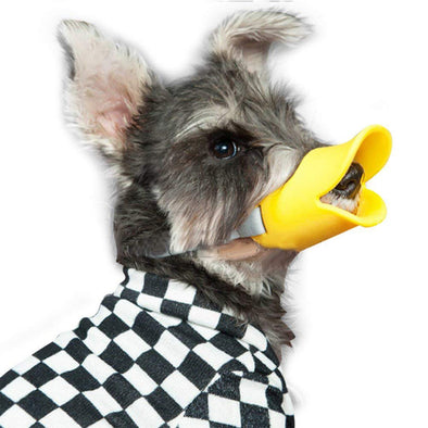 Anti Biting Duck Mouth Shape Dog Muzzle