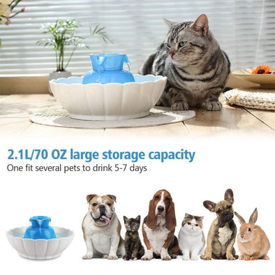 Ritone Ceramic Pet Drinking Fountain丨Ultra Quiet