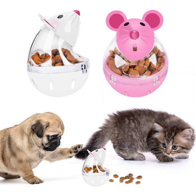 Cat Slow Feeder Mice Food Ball