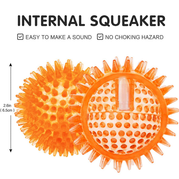 Squeaky Balls for Dogs With 6 Pack