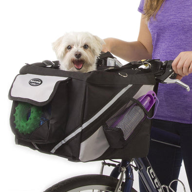Pet Bicycle Basket Storage