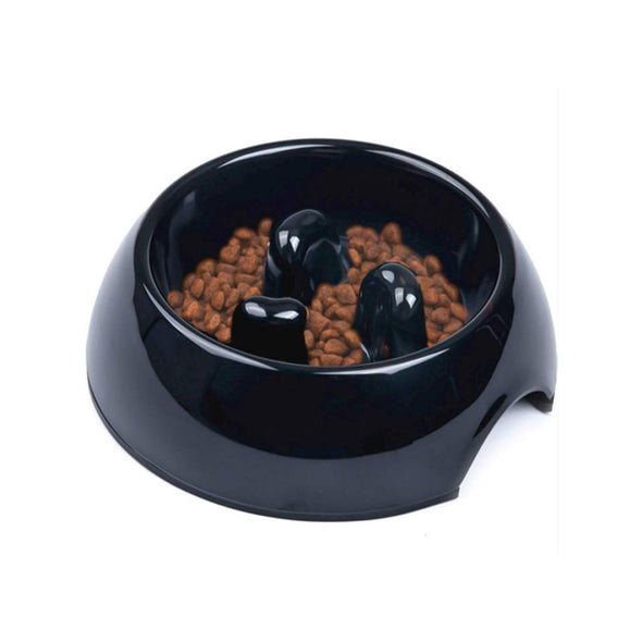 Anti-Gulping Pet Slow Feeder Bow