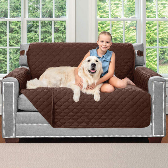 Original Patent Pending Reversible Sofa Protector for Dog