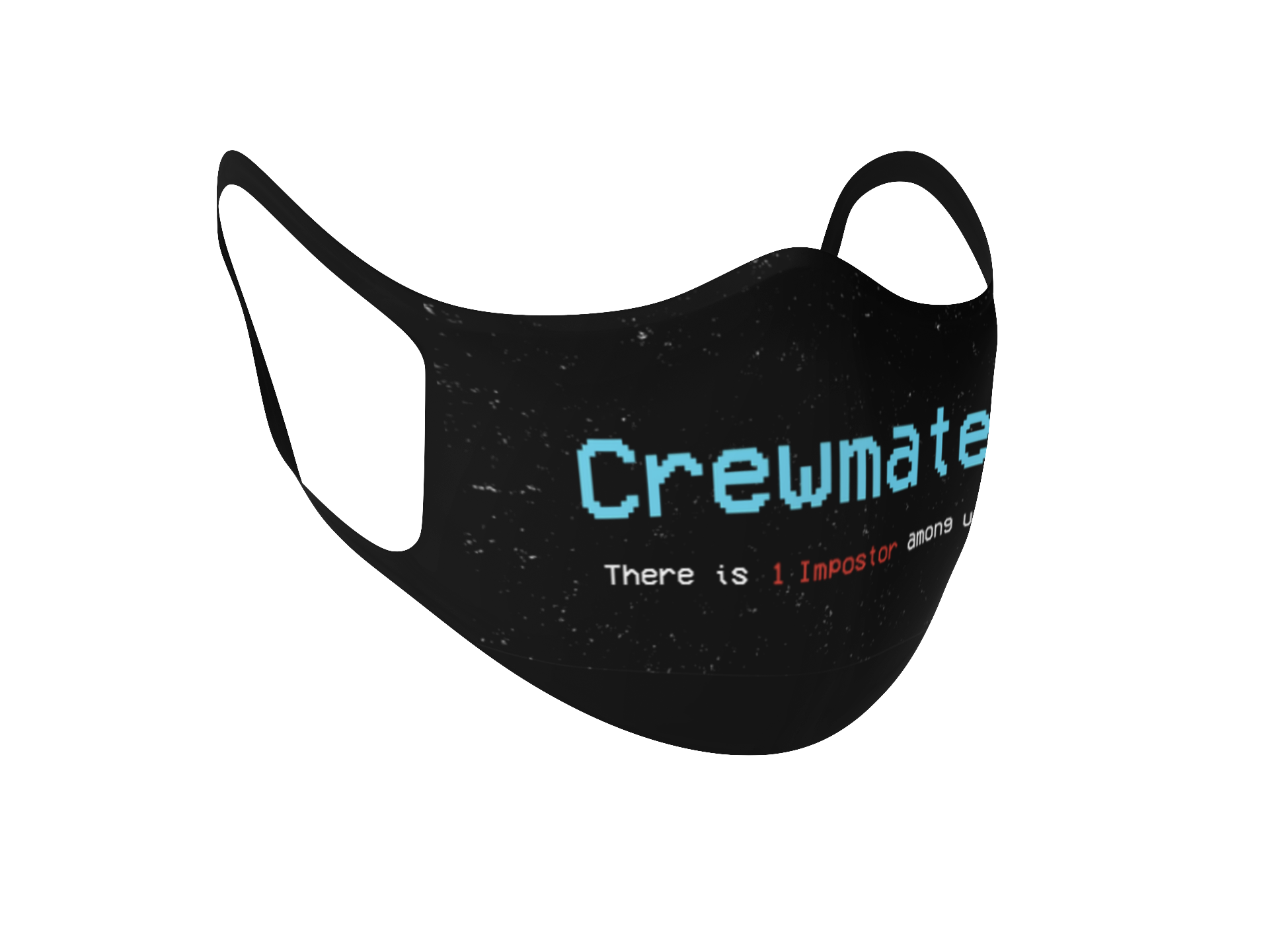 """Imposter"" & ""Crewmate"" Fabric Face Mask"