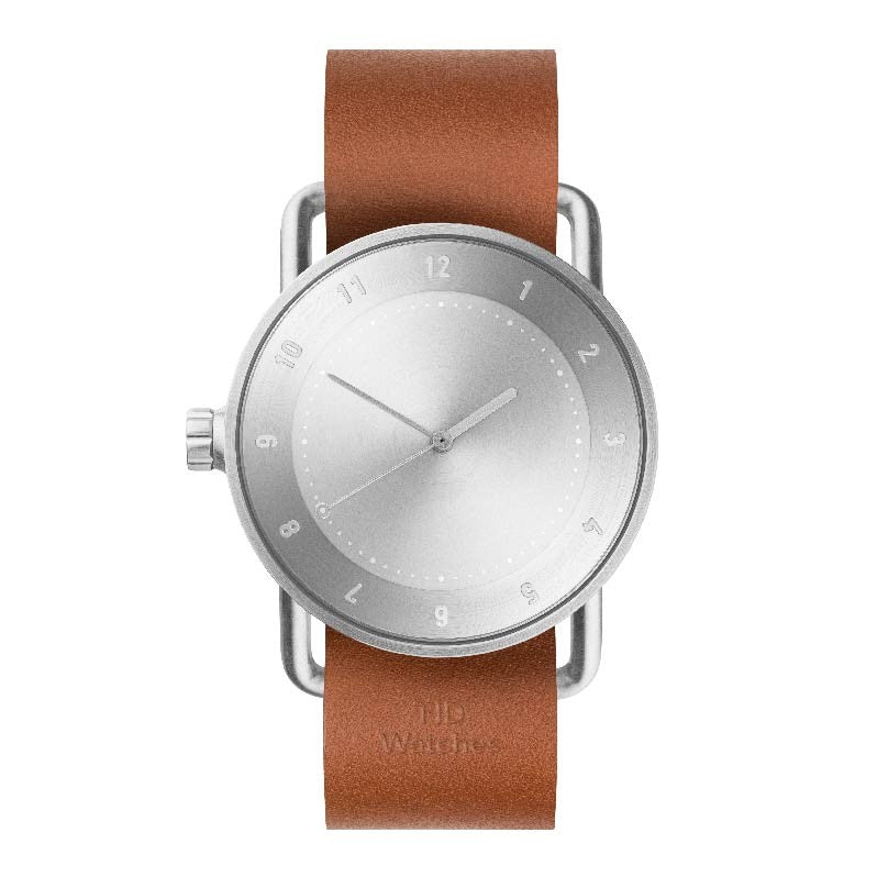 TID No.2 - Steel - Tan Leather
