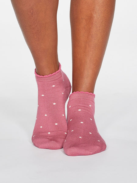 SPOTTY BAMBOO SOCKS - DIFFERENT COLOURS