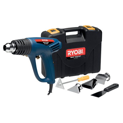 HEAT GUN 2000W 2 SPEED 450 – WITH 6PCE ACCESSORY KIT HG-2000K