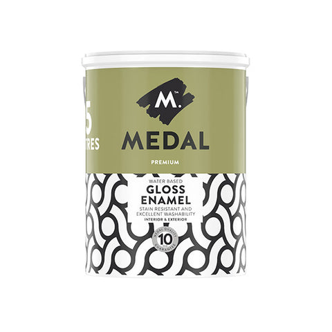 Medal Premium Water Based Gloss Enamel