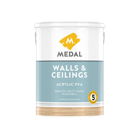 Medal Walls & Ceilings Acrylic PVA