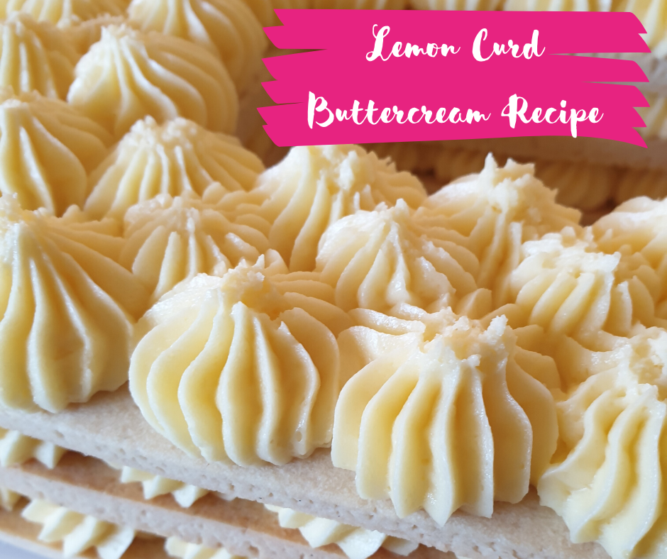 Lemon Curd Buttercream Recipe