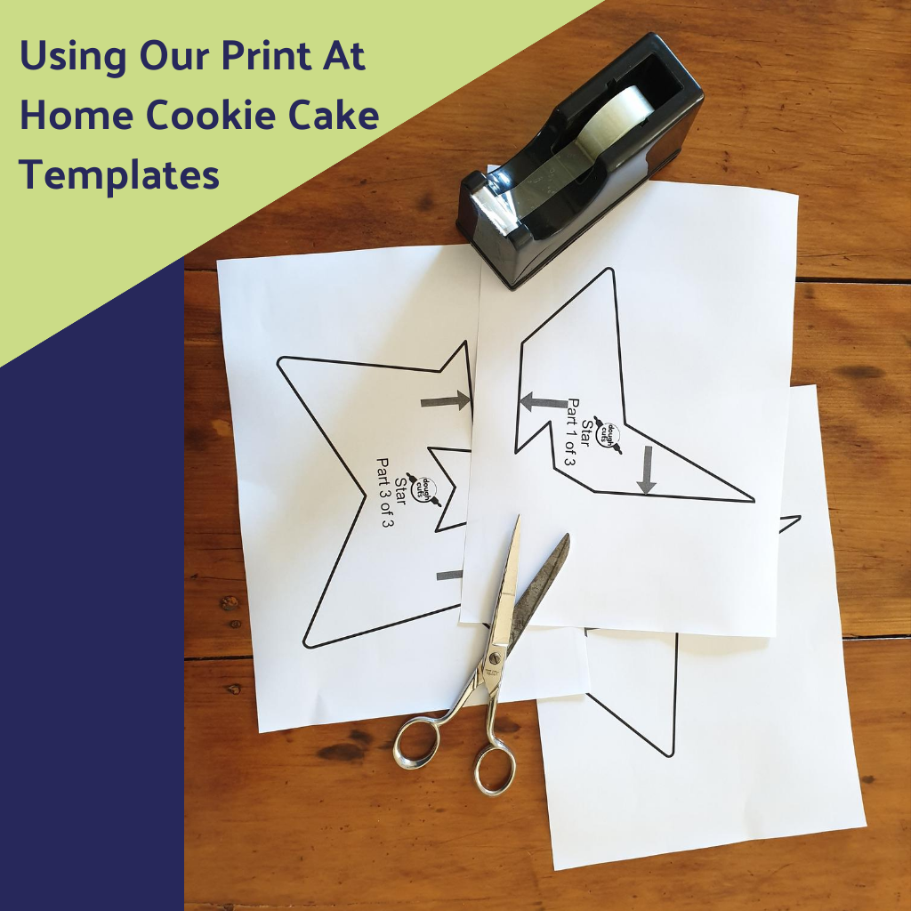 QUICK-START GUIDE: To Using Our Print At Home Cookie Cake Templates