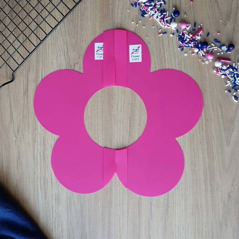 Image of reusable flower template