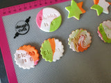 Fondant Cookie Cake Toppers