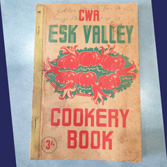 My beloved recipe book which was my Grandmothers