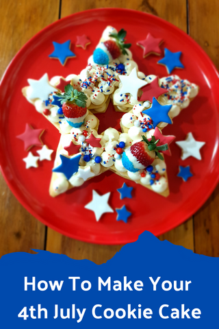 How to Make You 4th July Cookie Cake