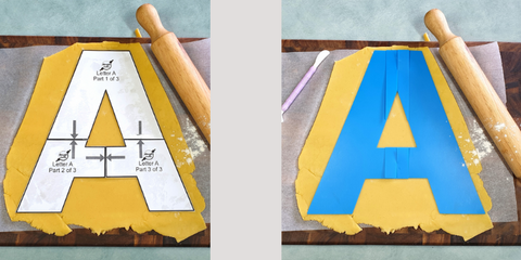 Letter A Templates In Use