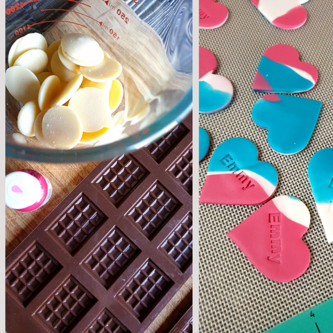 Making Cookie Cake Toppers
