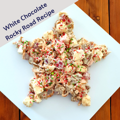Image of Rocky Road Star Shape