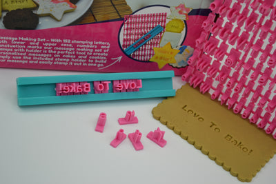 Message Maker Cookie Stamp Set 162 Pieces