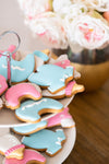 Baby Shower Cookie Cutter Set of 4 - Professional Quality Stainless Steel