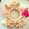 Flower Cookie Cake Template